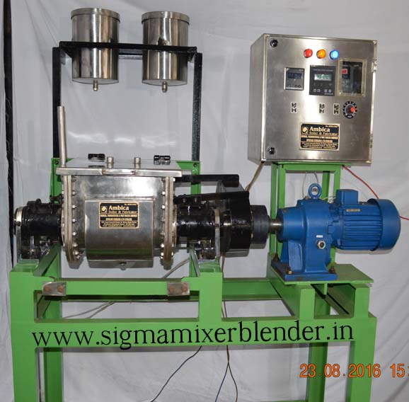 lab sigma mixer machine