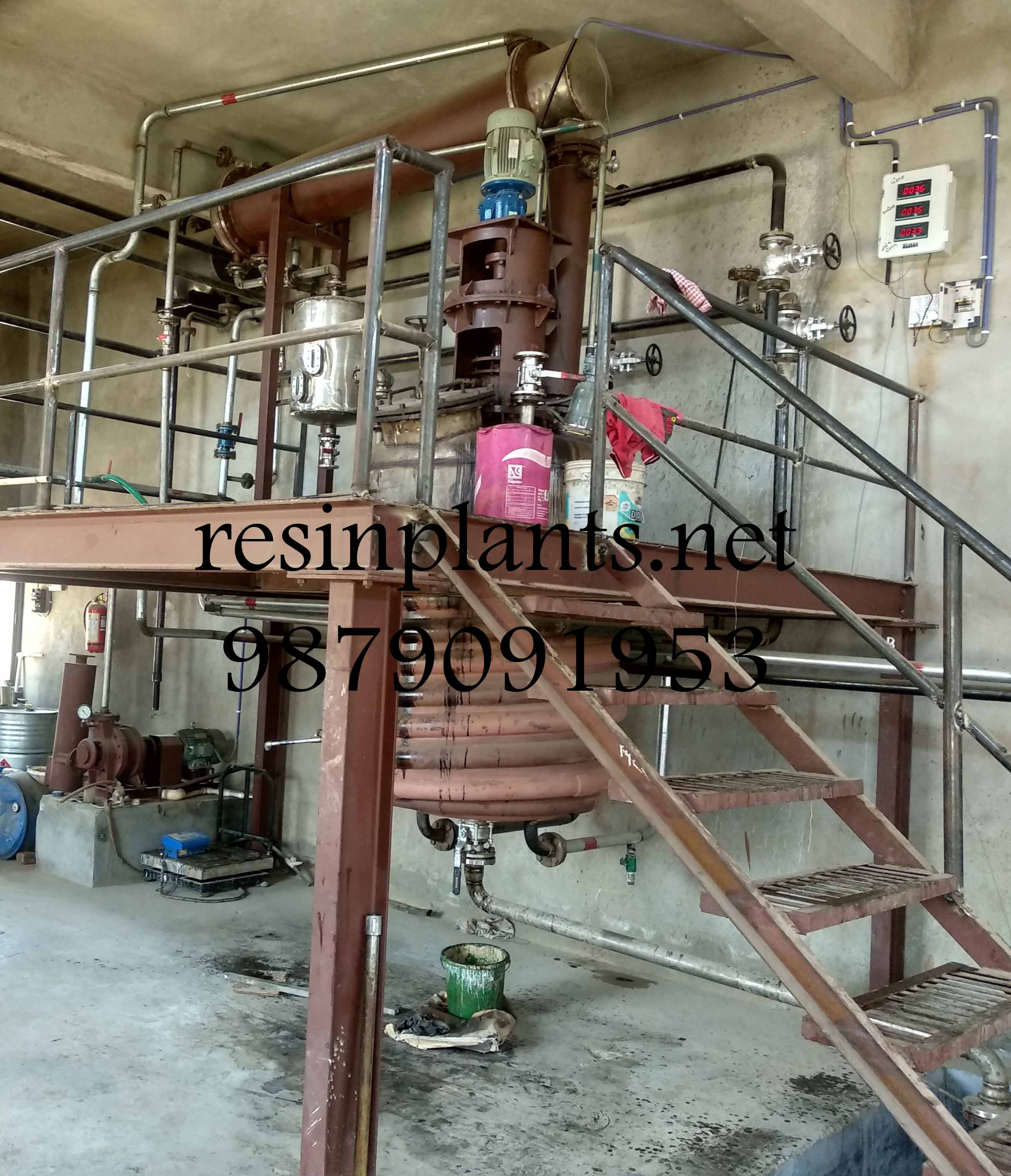 Un-Saturated Polyester Resin Plant